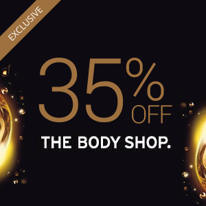35% off at Body Shop