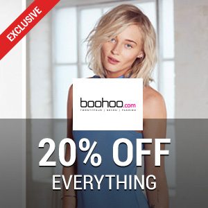 15% off at Boohoo