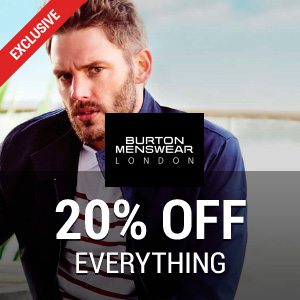 20% off at Burton
