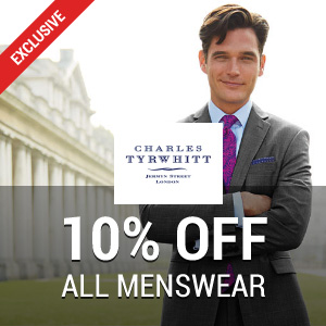 10% off at Charles Tyrwhitt