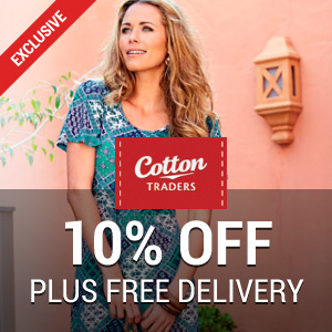 10% off at Cotton Traders