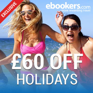 £60 off at ebookers