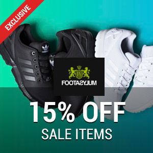 15% off at Footasylum