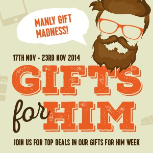 Gifts for Him Week