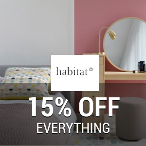 15% off at Habitat