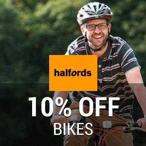 10% off Bikes