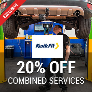 20% off at Kwik Fit