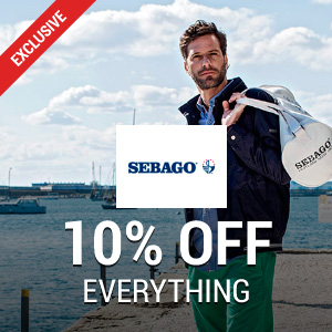 10% off at Sebago