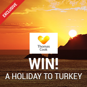 Win a Holiday to Turkey with Thomas Cook