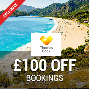 £100 off at Thomas Cook