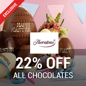 22% off at Thorntons