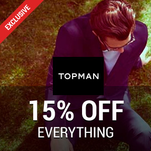 50% off in the Sale at Topman