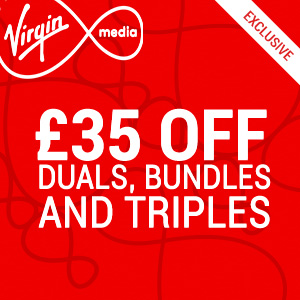 £35 off at Virgin Media