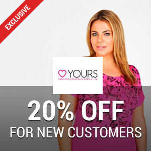 20% off at Yours Clothing