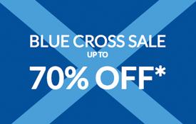 Up to 70% off at the Debenhams Blue Cross Sale