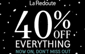 40% off Your Order
