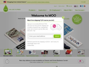 Get exclusive Moo coupon codes & discounts when you join the coolnupog.tk email list Ends Dec. 31, $88 avg order Whether you're in need of custom paper products, office supplies or promotional essentials, Moo has you covered with affordable prices.