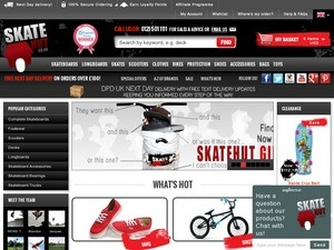 For Skate Hut we currently have 1 coupons and 19 deals. Our users can save with our coupons on average about $Todays best offer is Up to 85% off Clothing at Skate softballlearned.ml you can't find a coupon or a deal for you product then sign up for alerts and you will get updates on every new coupon added for Skate Hut.